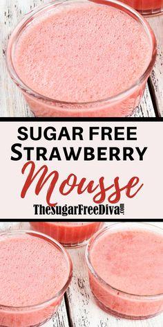 Sugar Free Deserts, Sugar Free Fruits, Sugar Free Jello, Sugar Free Baking, Sugar Free Recipes, Sugar Free Cheesecake, Diabetic Friendly Desserts, Diabetic Snacks, Diabetic Recipes