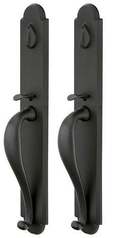 Ivory 5 Sets of door handles /'Twist Lever on Rose/'