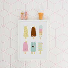 #icecream #print #eeflillemor