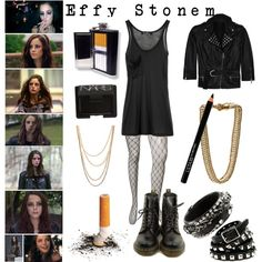 Effy - Skins by nirvantusia on Polyvore featuring polyvore, fashion, style, Kain, Richmond, Forever 21, Dr. Martens, BKE Black, Rebecca Minkoff and Bex Rox