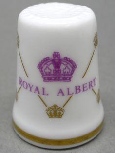 Royal Albert-England. Edicion UK y USA. TCC. Thimble-Dedal-Fingerhut.