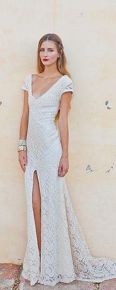 Bohemian Wedding Dress Inspiration: Dreamers & Lovers Alexandria Dress