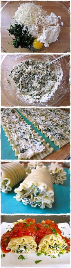 spinach lasagna roll ups | Cook Blog