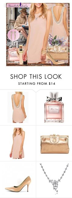 """BEAUTIFULHALO.COM-4."" by ane-twist ❤ liked on Polyvore featuring Christian Dior, HOBO, beautifulhalo and bhalo"