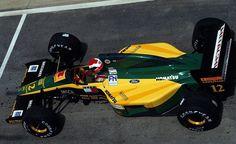 f1 Johnny Herbert Lotus - Ford 1992