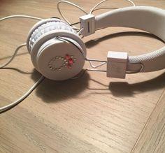 Høretelefoner med motiv lavede af blingles💍