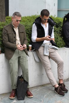Andrew Pollard and Nick Wooster Go to Japan