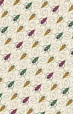 Beautiful Insects Pattern