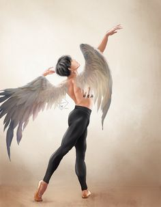 i put wings on my ballet jimin artwork and. wow hes made for this concept btsfanart blackswan Jimin Fanart, Kpop Fanart, Bts Anime, Anime Guys, Bts Jimin, Taehyung, Bts Pictures, Photos, Anime Poses