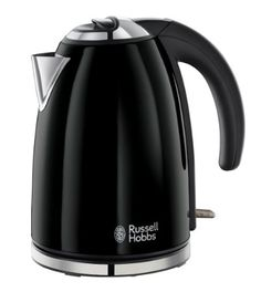 Russell Hobbs 18946 Colours Kettle, 1.7 L, 3000 W - Jet Black