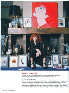 Sonia Rykiel in Domino.