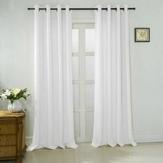Shop for Porch & Den Eastmoreland Textured Jacquard Extra-wide Curtain Panel Pair (Set of - 54 x 84 in. Get free delivery On EVERYTHING* Overstock - Your Online Home Decor Outlet Store! Sheer Curtain Panels, Grommet Curtains, Curtain Fabric, Panel Curtains, Extra Wide Curtains, Cool Curtains, Colorful Curtains, Living Room Windows, Formal Living Rooms