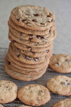 cook's illustrated doesn't lie, they truly are the perfect chocolate chip cookie