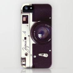[Zorki vintage camera by Bomobob]Society6(ソサエティシックス)のデザイナーズiPhoneケースです。最新のiPhone7用ケース/iPhone7 Plus用ケ…