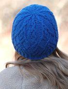 Free+Knitting+Pattern+-+Hats:+Filigree+Cap