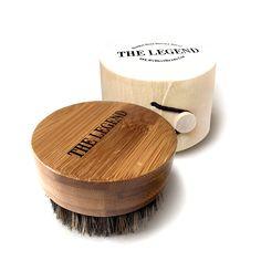 Brush For Men Beard Oil - Bamboo With 100% Boar Bristles Comb Beard Mustache NEW #MyBestBeard