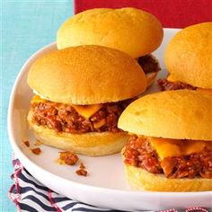 Favorite Sloppy Joes Recipe -I've prepared these sandwiches for years. I've tried many sloppy joe recipes, but this one is the best by far. It also travels well for picnics or potlucks. —Eleanor Mielke, Snohomish, Washington