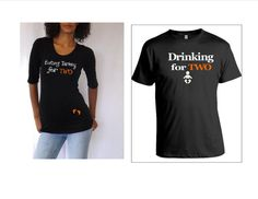 15dab260 Items similar to Thanksgiving Gift Set mom and dad to be Shirt, maternity  shirt says