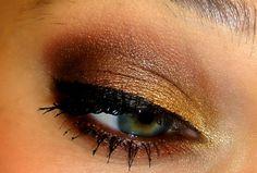Warm Glowy Fall Makeup