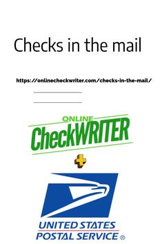 Checks in the mail - You create checks We Print the same checks on HQ Check Paper, Stuff, Seal and Post to your PAYEE on the Same Day (USPS) for 75 Cents Order Checks Online, Check Printing, 3d Printing, Bitcoin Faucet, Writing Software, Check Email, Business Checks, Business Innovation, Cool Websites
