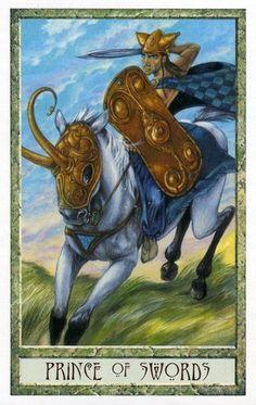 The Druid Craft Tarot ► Prince of Swords
