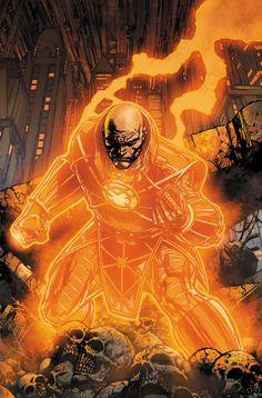 Orange Lantern / Agent Orange Lex Luthor by David Finch (Colors by Peter Steigerwald)