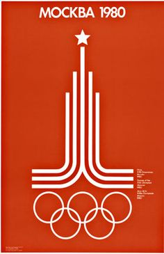 Sports Moscow Olympics Poster