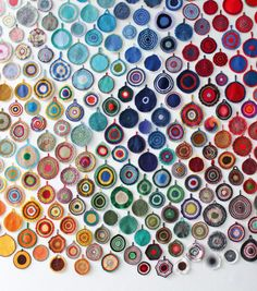 real colour circles by Anu Tuominen