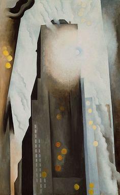 Georgia O'Keeffe, The Shelton With Sunspots (1926)