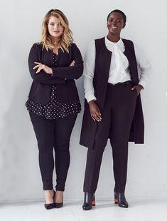 Curvy Girl Fashion, Black Women Fashion, Modest Fashion, Plus Size Fashion, Womens Fashion, Fashion Trends, Tomboy Fashion, Grunge Fashion, Fashion Bloggers