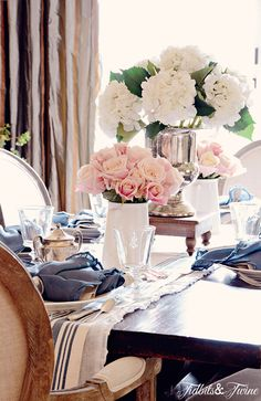 TIDBITS TWINE Dining Room 71 10 Beautiful {Faux} Botanicals for Spring