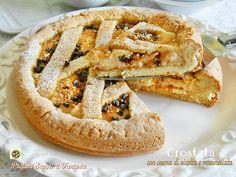 Crostata con crema di ricotta e marmellata   Blog Profumi Sapori & Fantasia