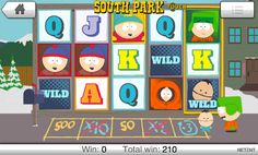 South Park Screenshot Net Ent Slot Game