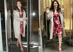 "Emmy Rossum at SiriusXM to talk about her new showtime series ""Shameless"" in New York on January 7, 2016"