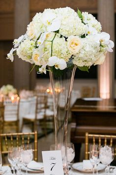 Photo: Anny Photography. To see more: http://www.modwedding.com/2014/09/16/elegant-dc-wedding-anny-photography/ #wedding #weddings #wedding_reception #wedding_centerpiece