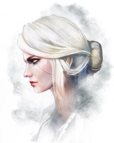 Fanart Ciri - The Witcher III by yuche-cheng.tumblr