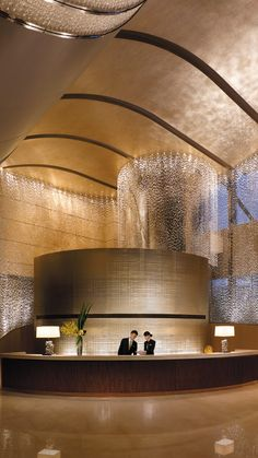 Jing An Shangri-La, Shanghai Luxury Spa, Luxury Hotels, Hotel Decor, Hotel Suites, Hotel Lobby, Luxury Apartments, Interior Design, Ivf Clinic, Lighting