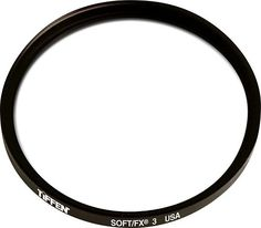 Tiffen - 77mm Soft/FX 3 Lens Filter - Black, 77SFX3