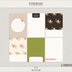 Beyond Measure Journaling Cards - One Little Bird Designs