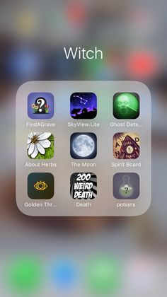 """chaosundone: """" My witchy apps (so far): Wiccan Magic, Wiccan Witch, Wiccan Spells, Magic Spells, Witch Spell Book, Witchcraft Spell Books, Green Witchcraft, Witch Apps, Apps For Teens"""