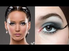 KATNISS EVERDEEN HUNGER GAMES CATCHING FIRE WHITE (WEDDING) DRESS MAKEUP