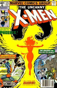Comic Art: X-Men #125 Classic John Byrne Cover and Interior Art Also http://ebay.to/1MkkL4b