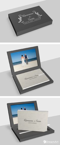 Rose & Sean Wedding Album @graphistudio example for DreamArt Photography Weddings Luxury Book. Young Book. #DreamArtPhotography #DreamArtWedding #WeddingAlbum #GraphiStudio #YoungBook #MadeInItaly #LuxuryBook Book Size 30 x 20 cm. 40 pages. Book Cover Cloud Leatherette Light Grey. Box Outside Class Leatherette anthracite grey. Inside Photographic paper. White Ribbon.