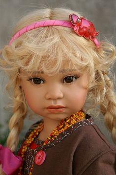 Isabeau...angela sutter, swiss doll artist