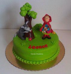 LOVE FOR CAKE: Bolo Capuchinho Vermelho