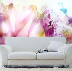 3D Fantasy Flowers 1 Paper Murals Wall Print Decal Wall Deco AJ WALLPAPER