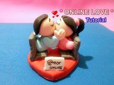 MANUALIDADES FACILES AMOR Y AMISTAD/ Love cold porcelain charms
