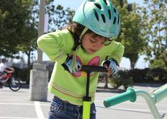 On her way to becoming a pro at the Morgan Hill #Bike Fest.