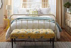 Get inspired by Cottage/Country Bedroom Design photo by Joss & Main. Wayfair lets you find the designer products in the photo and get ideas from thousands of other Cottage/Country Bedroom Design photos. Bedroom Vintage, Modern Bedroom, Contemporary Bedroom, Bedroom Neutral, Bedroom Simple, Dream Bedroom, Master Bedroom, Italian Home, Farmhouse Bedroom Decor