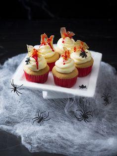 Halloween vanilla butterscream cupcakes | Recipes to Love Thermomix ebook